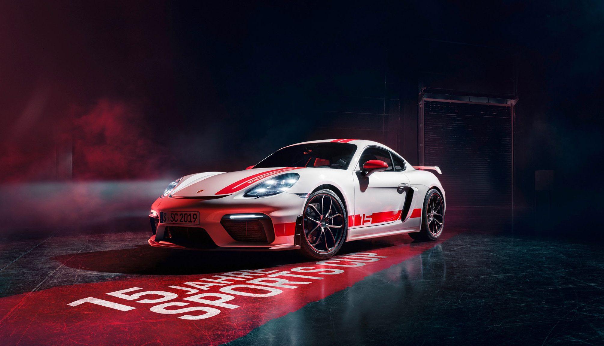 Porsche 718 Cayman GT4 Sports Cup Edition Sondermodell