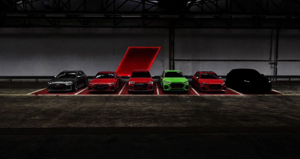 Audi Sport GmbH Modelle