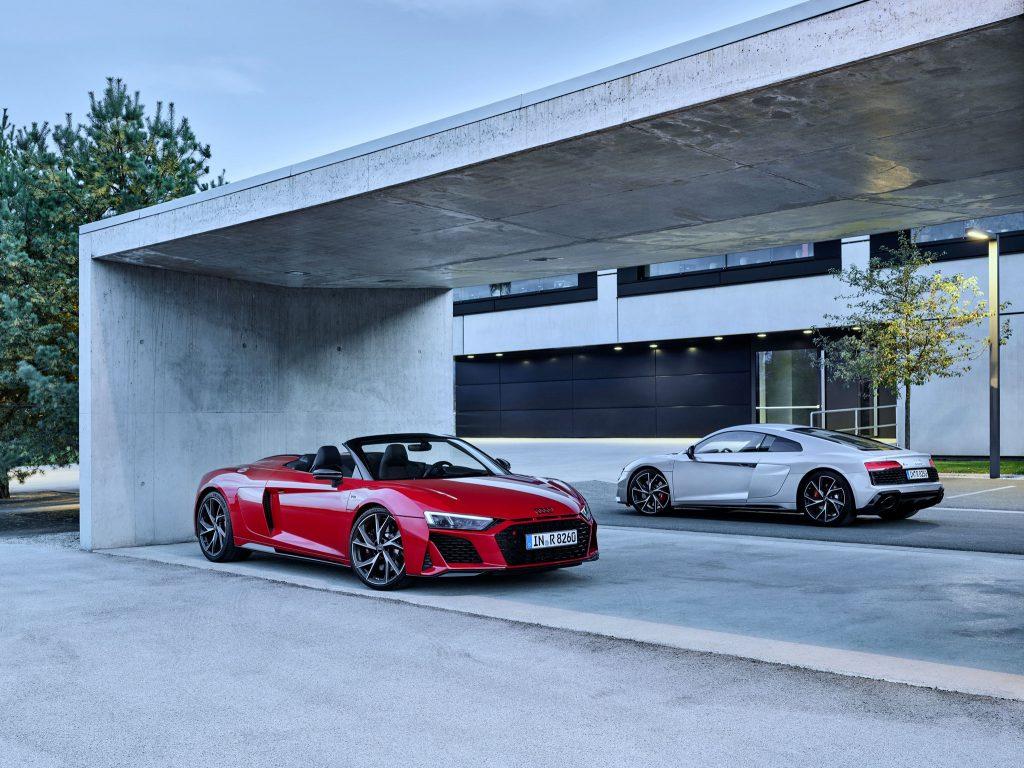 Audi R8 V10 RWD Coupé und Spyder