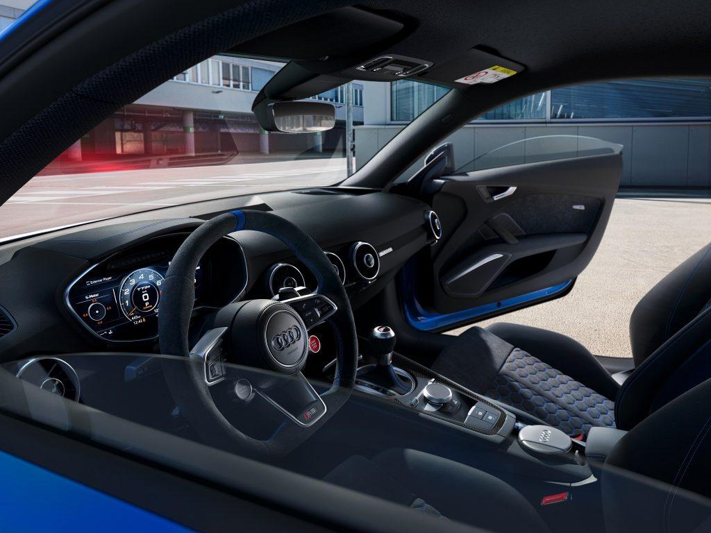 25 Jahre Audi RS Jubiläumspaket TT RS Interior