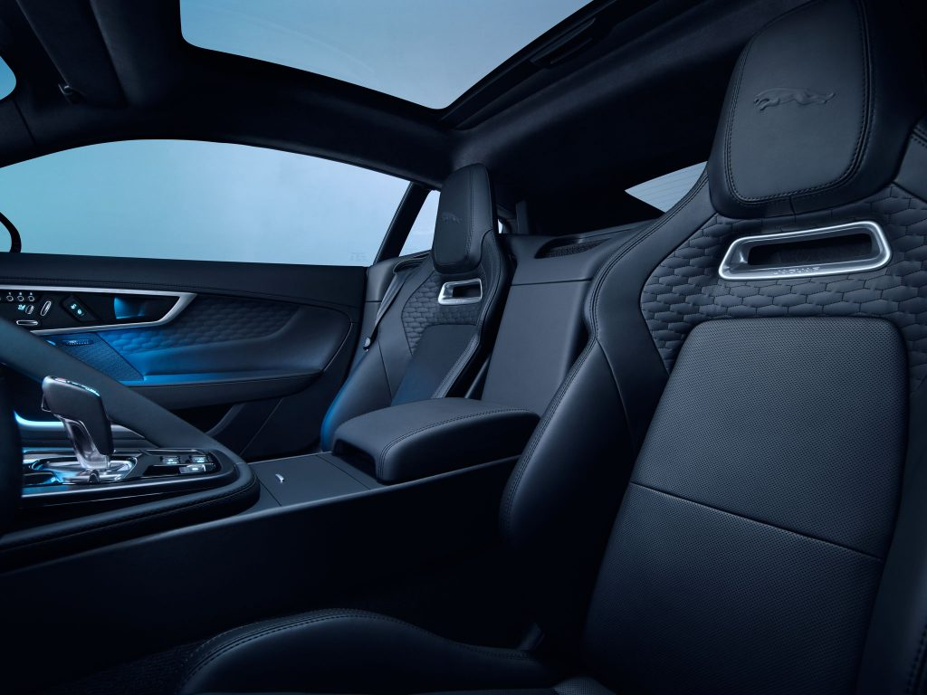 Jaguar F-Type Facelift Interieur