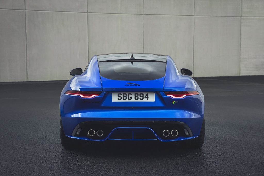 Jaguar F-Type Facelift Heck