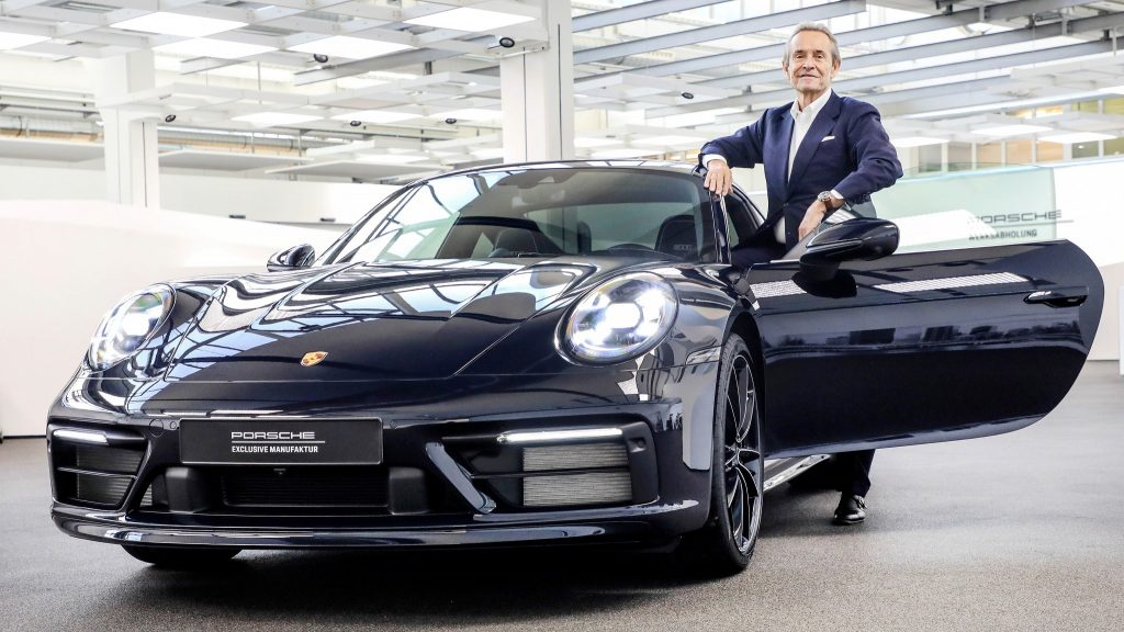 Porsche 911 (992) Belgian Legend Edition