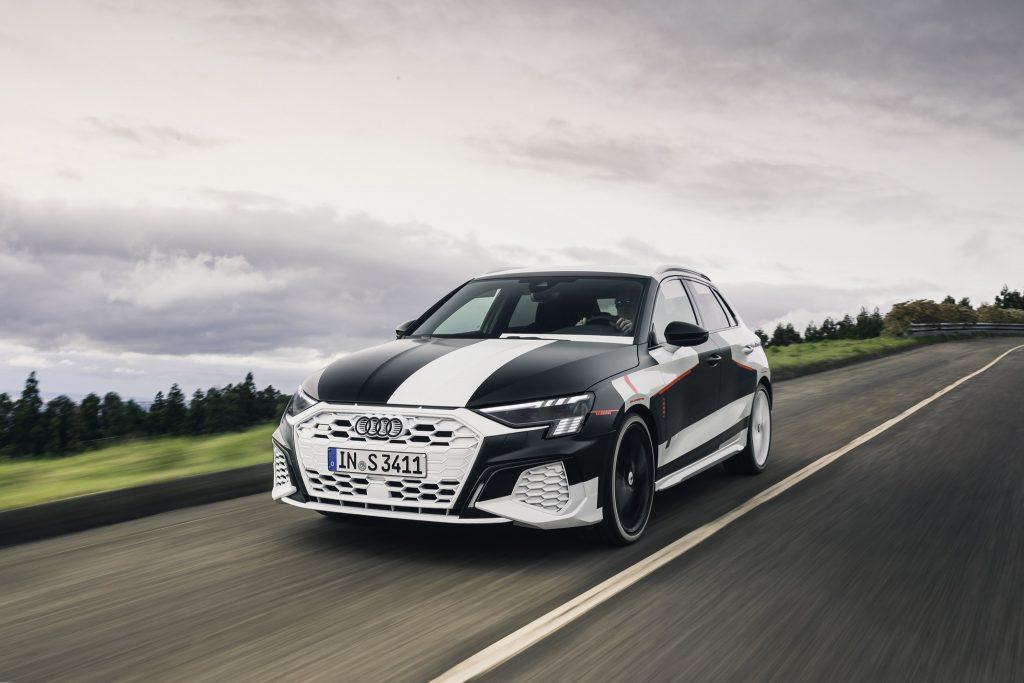 Audi A3 Sportback Covered Drive