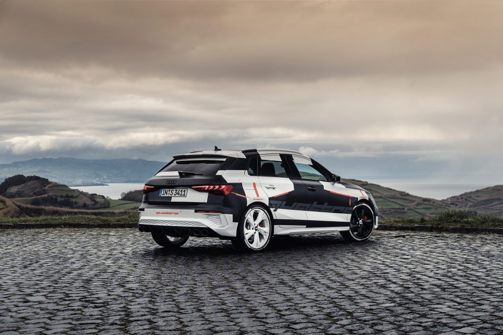 Audi A3 Sportback Covered Drive