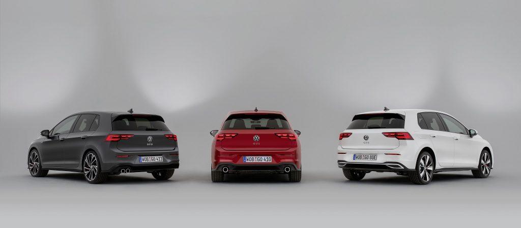 VW Golf GTD, GTI und GTE