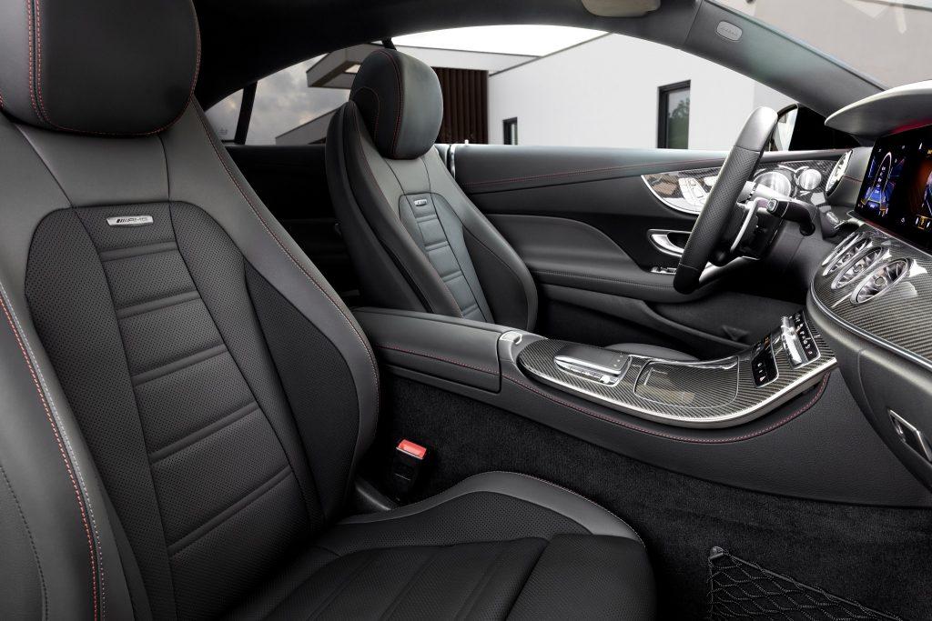 Mercedes-AMG E 53 4MATIC+ Coupé interior