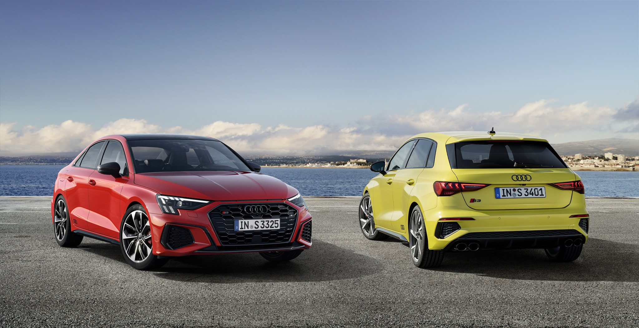 Audi S3 Sportback und die S3 Limousine