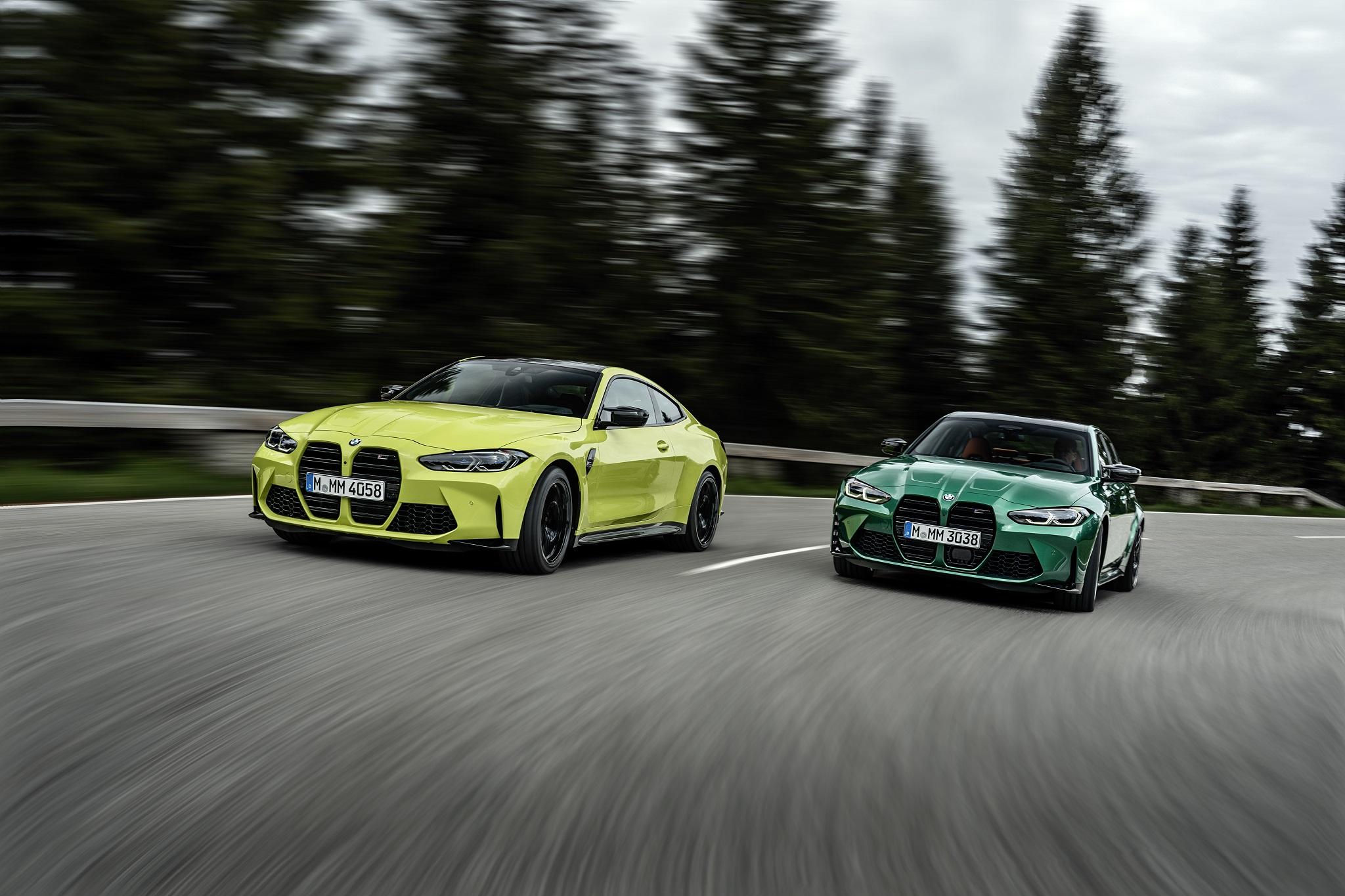BMW M3 Competition Limousine M4 Competition Coupé