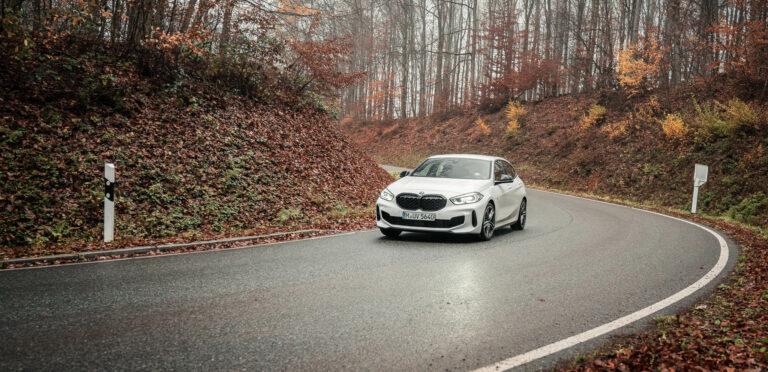 BMW M135i xDrive im Odenwald
